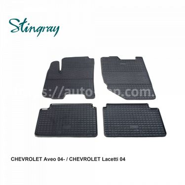 Автоковры Chevrolet Aveo 04-/Lacetti 04-
