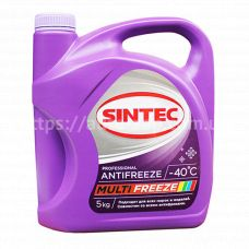 Антифриз Sintec MULTI FREEZE (-40) 5л