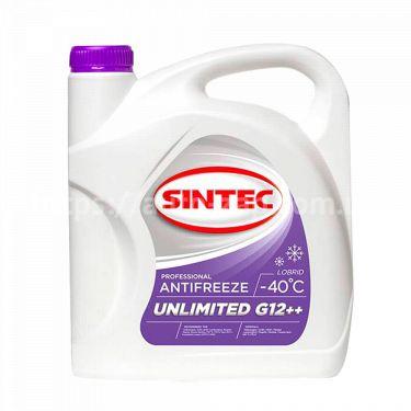 Антифриз Sintec UNLIMITED G12 + + (-40) 5л красно-фиолетовый