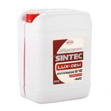 Антифриз Sintec LUX G12 20 л красный