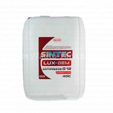 Антифриз (концентрат) SINTEC LUX G12 (-80) 20л