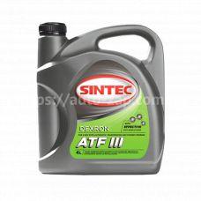 Масло трансмиссионное ATF Dexron3 Sintec 4л минеральное