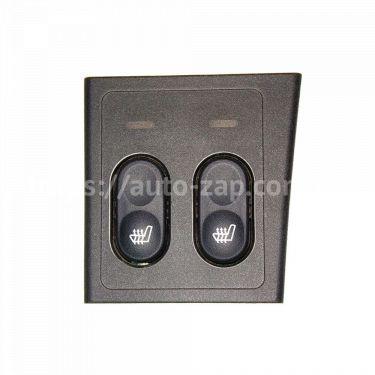 Блок управления подогревом сидений ВАЗ-2170 Лада Приора АВАР (2 кнопки)