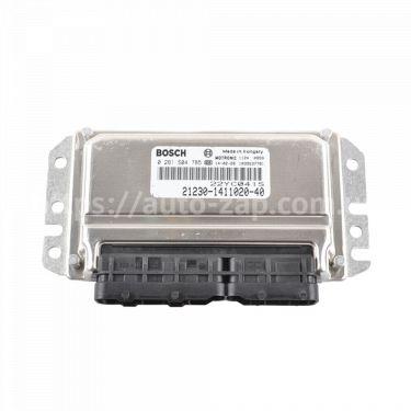 Контроллер системы управления двигателем Bosch 21230-1411020-40