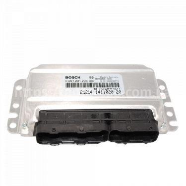 Контроллер системы управления двигателем Bosch 21214-1411020-20