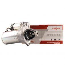 Стартер ВАЗ-2110-12, 2170-72, 1117-19 под 2 шпильки редукторный 11 зуб. с усиленной КПП КЗАТЭ
