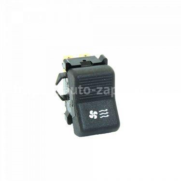 Клавиша включения вентилятора отопителя ВАЗ-2101 (6-ти контактная) Зубова Поляна
