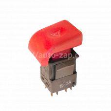Выключатель аварийной сигнализации ВАЗ-2110 АВАР с/о (красная)