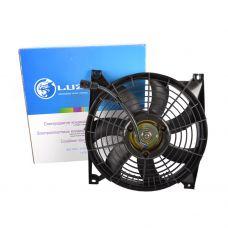 Электровентилятор кондиционера в сборе с кожухом ВАЗ-2190 Lada Granta, Kalina 2 (LFAC 0190) Luzar