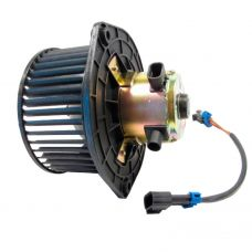 Электровентилятор отопителя ВАЗ-2123 Niva Chevrolet Luzar (электродвигатель в сборе с крыльчаткой на подшипнике)