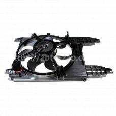 Электровентилятор охлаждения Chevrolet Aveo Т 255 (08-) (LFK 0581) Luzar