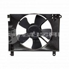 Электровентилятор охлаждения Chevrolet Aveo (02-) Luzar