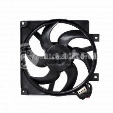 Вентилятор охлаждения радиатора ВАЗ-1118 (с кожухом, с резист) (LFK 0118) Luzar