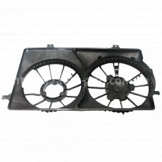 Кожух вентиляторов ВАЗ-2170 с кондиционером Halla (LFS 01270) Luzar