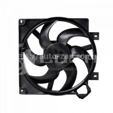 Электровентилятор охлаждения радиатора ВАЗ-1118 Лада калина (с кожухом, без резист) (LFK 01181) Лузар