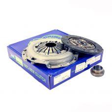 Комплект сцепления в сборе Daewoo Lanos, Nexia 1.5 SOHC (диск нажимной, ведомый, подшипник) Valeo