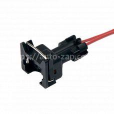Разъём (колодка) датчика детонации и форсунки с проводами