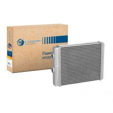Радиатор отопителя УАЗ-3163 Патриот (алюм-паяный) (05.2012-) А/С Delphi (LRh 03637) Luzar