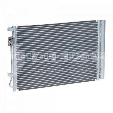 Радиатор кондиционера Hyundai Accent 1.4/1.6 (10-) АКПП/МКПП с ресивером LRAC 08L4 Luzar