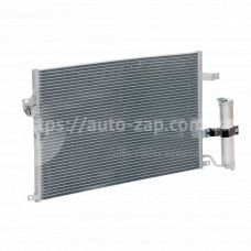 Радиатор кондиционера Chevrolet Lacetti с ресивером (LRAC 0578) Лузар