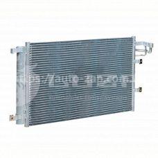 Радиатор кондиционера Kia Cerato 1.5/1.6/2.0 (04-) АКПП/МКПП с ресивером LRAC 08F2 Luzar