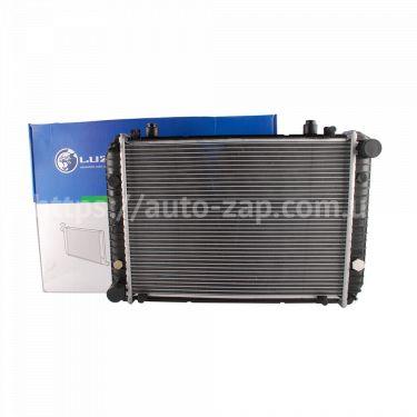 Радиатор охлаждения алюминиевый Luzar нового образца ГАЗ-3302 (алюминиево-паяный)