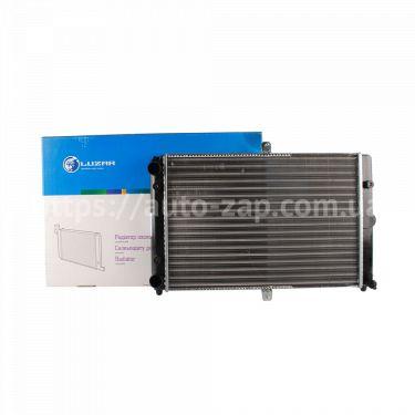 Радиатор охлаждения алюминиевый ВАЗ 21082 (инжекторный) Luzar