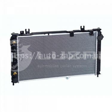 Радиатор охлаждения ВАЗ-2190 Лада Гранта АКПП (алюм-паяный) (LRc 01192b) Luzar
