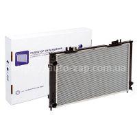 Радиатор охлаждения алюминиево-паяный ВАЗ 2170 Лада Приора (с кондиционером Halla) LRc 01270b Luzar