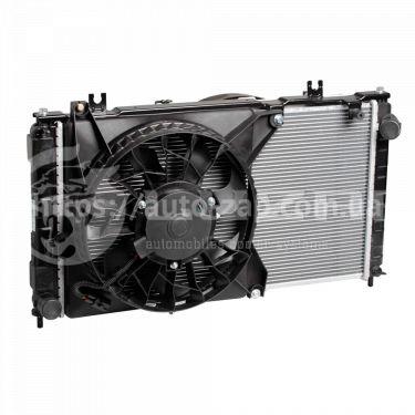 Радиатор охлаждения ВАЗ-2190/2192 Лада Гранта (+рад. кондиц+вентиляторы) МКПП А/С (LRK 0192) Лузар