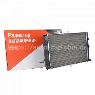 Радиатор охлаждения алюминиевый ВАЗ 2108 (карбюратор) ДААЗ