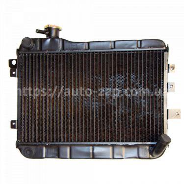 Радиатор охлаждения медный ВАЗ-2107 Iran 2-х рядный