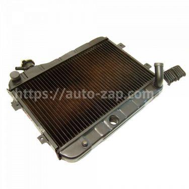 Радиатор охлаждения медный ВАЗ-2101 Iran 2-х рядный