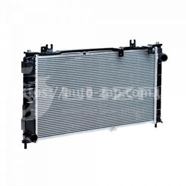 Радиатор охлаждения ВАЗ-2190 Лада Гранта с конд (алюм-паяный) (LRc 0192b) Лузар