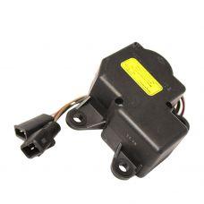 Моторедуктор заслонки отопителя ВАЗ-2110  с проводами Омега
