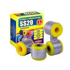 Стойка стабилизатора ВАЗ 2108 (к-т 2 шт) кор. уп. (яйца) полиуретан SS 20